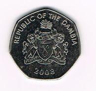 ) GAMBIA  1 DALASI  2008 - Gambie