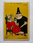 Illustrateur JEAN BRIAN - Le Théâtre - L'AVARE - Verso: Carte à Jouer  90 X 60 Mm - Artis Historia
