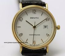 Zenith. Cosmopolitan, Neuve Diamètre 27 Mm Date à 3h. - Orologi Di Lusso