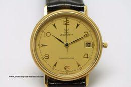 Zenith. Cosmopolitan, Neuve Diamètre 34 Mm Date à 3h. - Watches: Top-of-the-Line