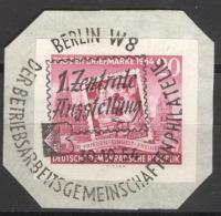 DDR 445B O Briefstück Sonderstempel - Gebraucht