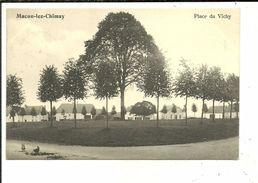Macon Lez Chimay Place Du Vichy ( Momignies ) Edition Douniau Cartes En Gros Chimay - Momignies