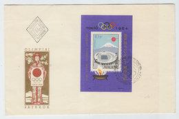 Hungary OLYMPIC GAMES TOKIO TOKYO FDC 1964 - Summer 1964: Tokyo