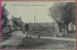 41 RARE Chavigny Sur Braye 1924 Hameau De La Brunellière Raoult éditeur Coll LVAC - France