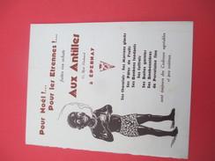 Petit Catalogue Publicitaire Et Tarifs/Confiserie/Cafés -Chocolats/ Aux Antilles/Rue Flodoar/EPERNAY/Vers 1930    CAT201 - Factures & Documents Commerciaux