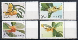 China,VR  1995  MiNr. 2600/ 2603   **/ Mnh ;  Duftblüten - Neufs