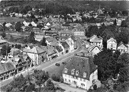 90-GIROMAGNY- LA MAISON DE MAZARIN ET LA GRANDE PLACE VUE DU CIEL - Giromagny