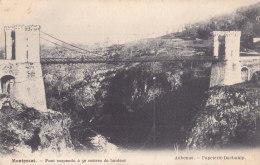 Montpezat (07) - Pont Suspendu à 50 Mètres De Hauteur - Non Classés