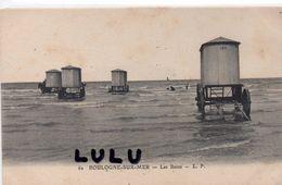DEPT 62 : édit. L P N° 62 : Boulogne Sur Mer Les Bains ( Mise A L Eau Par Un Cheval ) - Boulogne Sur Mer
