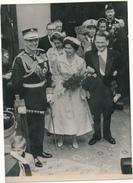 Photo De Presse 1956 - GRECE, PARIS - Les Souverains Grecs, René Coty - Altri