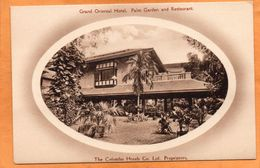 Colombo Grand Oriental Hotel Sri Lanka Ceylon 1905 Postcard - Sri Lanka (Ceylon)