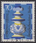 !b! BERLIN 1972 Mi. 438 USED SINGLE (p) - Chess Pieces: King - [5] Berlin