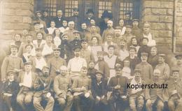 AK Lisdorf, Lazarett - Deutschland