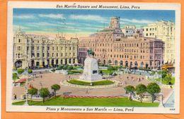 Lima Peru 1950 Postcard Mailed - Peru