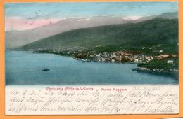 Volosca Volosko Opatija Croatia 1905 Postcard - Croatia