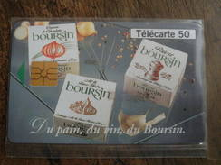 TELECARTE 50  DU PAIN, DU VIN, DU BOURSIN - NEUVE Sous Blister. - Alimentation