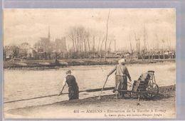 AMIENS . Extraction De La Tourbe à Rivery . - Amiens