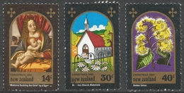 New Zealand. 1981 Christmas. Used Complete Set. SG 1253-1255 - Used Stamps