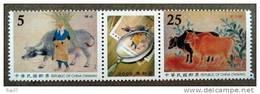 FORMOSE -TAIWAN 2009 - Vaches, Peinture, Art Moderne Taïwanais  - 2v Neufs // Mnh - 1945-... République De Chine