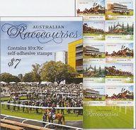 AUSTRALIA, 2014, Booklet 697, Australian Racecourses - Boekjes