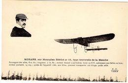 Morane Sur Monoplan Blériot  -  CPA - Flieger