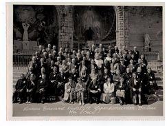 Berlaar: Lourdes Bedevaart Kristelijke Gepensioneerden.Berlaar Mei 1960 (fotokaart 18x24cm) - Berlaar