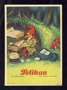 Buvard PELIKAN Num.1926 R. Encre, Gnomes (Ref. 99696) - Buvards, Protège-cahiers Illustrés
