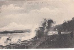 Cp , 76 , CAUDEBEC-en-CAUX , Le Mascaret - Caudebec-en-Caux