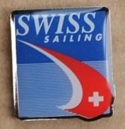 BATEAU - VOILE - SWISS SAILING - DRAPEAU SUISSE   -      (18) - Sailing, Yachting