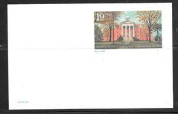 1994 Wittenberg University, Springfield Ohio, 19 Cent Mint - Entiers Postaux