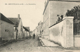 Amponville (77 - Seine-et-Marne) La Grande Rue - France