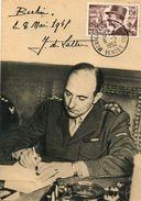 DE LATTRE DE TASSIGNY....premier  1952 - 1950-1959