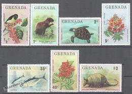 Grenada 1976 Yvert 646-52, Fauna & Flowers - MNH - Grenade (1974-...)