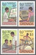 Grenada 1982 Yvert 1010-13, International Year For Disabled Persons - MNH - Grenada (1974-...)