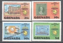 Grenada 1981 Yvert 1006-09, 100th Anniversary In UPU Membership - MNH - Grenada (1974-...)