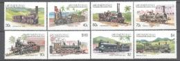 Grenada 1984 Yvert 1197-04, Old Locomotives - MNH - Grenada (1974-...)