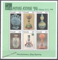 Grenada 1994 Yvert 2382-87, Hong Kong '94, International Philatelic Exhibition - MNH - Grenada (1974-...)
