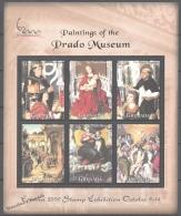 Grenada  2000 Yvert 3808-13, Paintings Of The Prado Museum - Miniature Sheet - MNH - Grenade (1974-...)