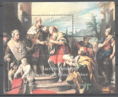 Grenada 1999 Yvert BF 560, Paintings Of The Prado Museum - Jacopo Amiconi - Miniature Sheet - MNH - Grenade (1974-...)