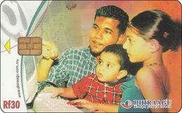 Malediven Phonecard   Familie - Maldives