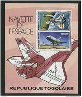 TOGO ( BLOC ) : Y&T N°  110   BLOC  NEUF  SANS  TRACE  DE  CHARNIERE , A  VOIR . - Togo (1960-...)