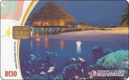 Malediven Phonecard Beach Mit Resort - Maldives