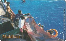Malediven Phonecard Fishing - Maldives