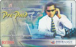 Malediven Phonecard Man Tel. - Maldives