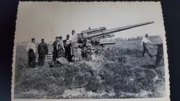 PHOTO WW2 WWII : CANON ANTIAERIEN 88mm - FLAK 88 - Guerre, Militaire