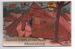MONTRICHARD (41) - CARTE A SYSTEME - Montrichard