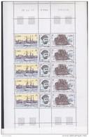 TAAF 2003 Centenaire Du Depart Du Francais Strip 3v* Complete Sheetlet * Mnh (F5185) - Blokken & Velletjes