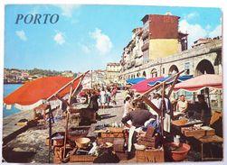 CPM PORTUGAL PORTO MARCHE DU QUAI DE RIBEIRA CARTE POSTALE EDITIONS GOTICA 78-375 - Porto