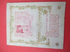 Petit Fascicule Publicitaire/ Décoration Maison  / Peinture / Frise/ Compagnie MATOLIN/Paris/Vers 1905 - 1910     CAT204 - Fatture & Documenti Commerciali