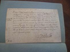 Pièce Autographe Velin Jehan De Mardaillan Lieutenant Du Roi De Phillipeville Belgique Hainault Quitance 1663 - Autógrafos
